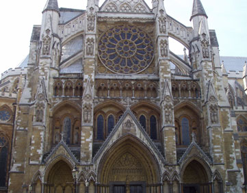 Westminster Abbey i London